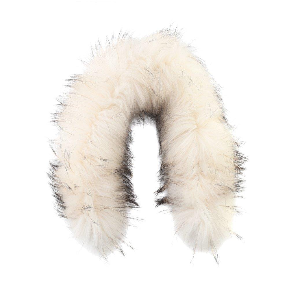 Bogner Nurea Fur Hood Trim - White