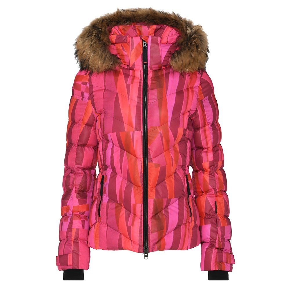 Bogner Fire + Ice Sassy2 Insulated Ski Jacket with Real Fur (Women's) - Vibrant Pink