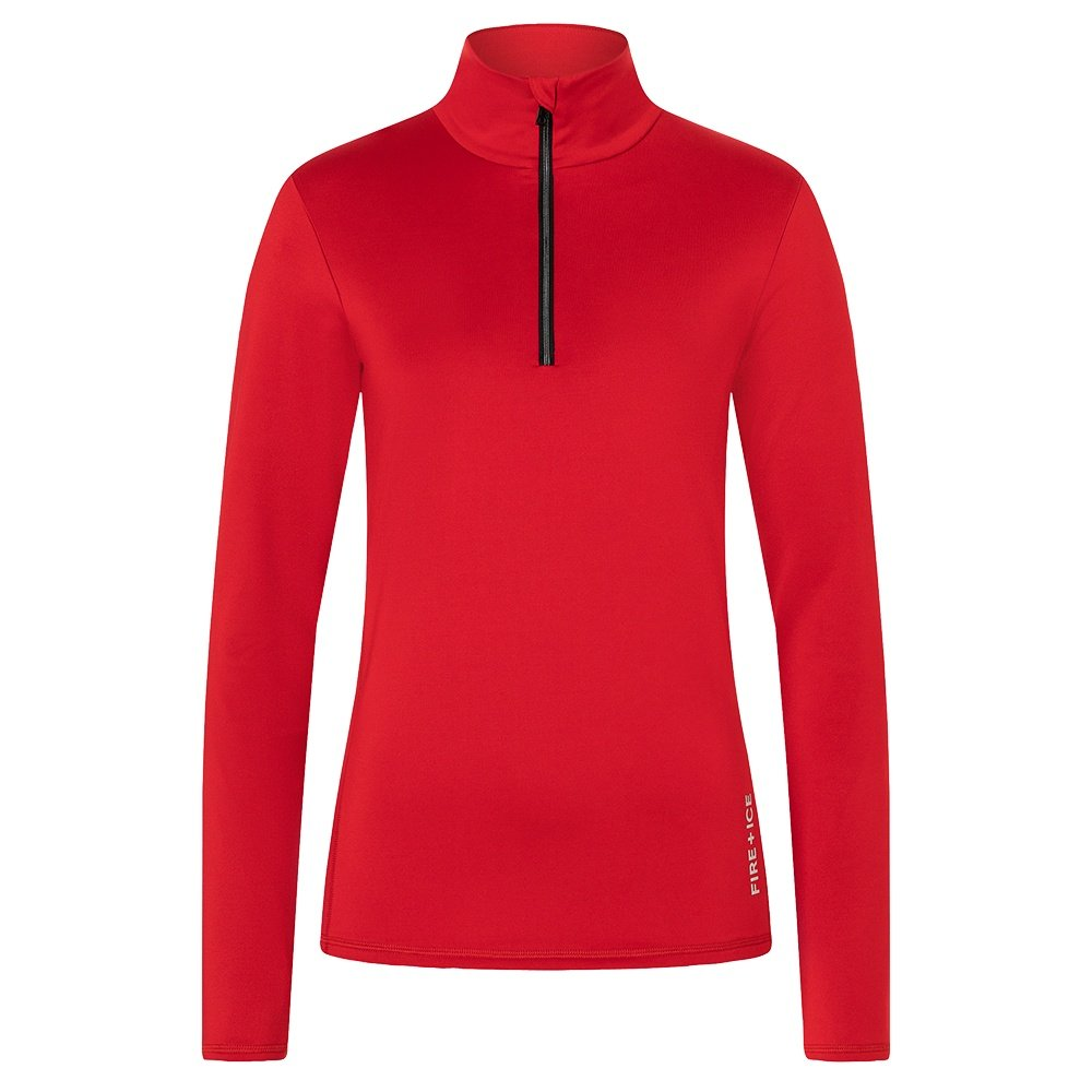 Bogner Fire + Ice Margo2 1/4-Zip Mid-Layer (Women's) - Signal Red