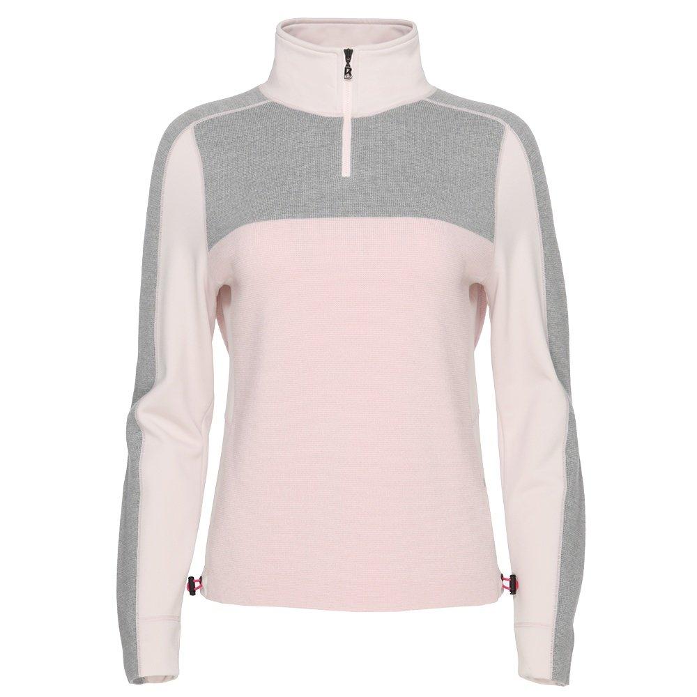 Bogner Fire + Ice Babsy 1/4-Zip Sweater (Women's) - Peach Blossom