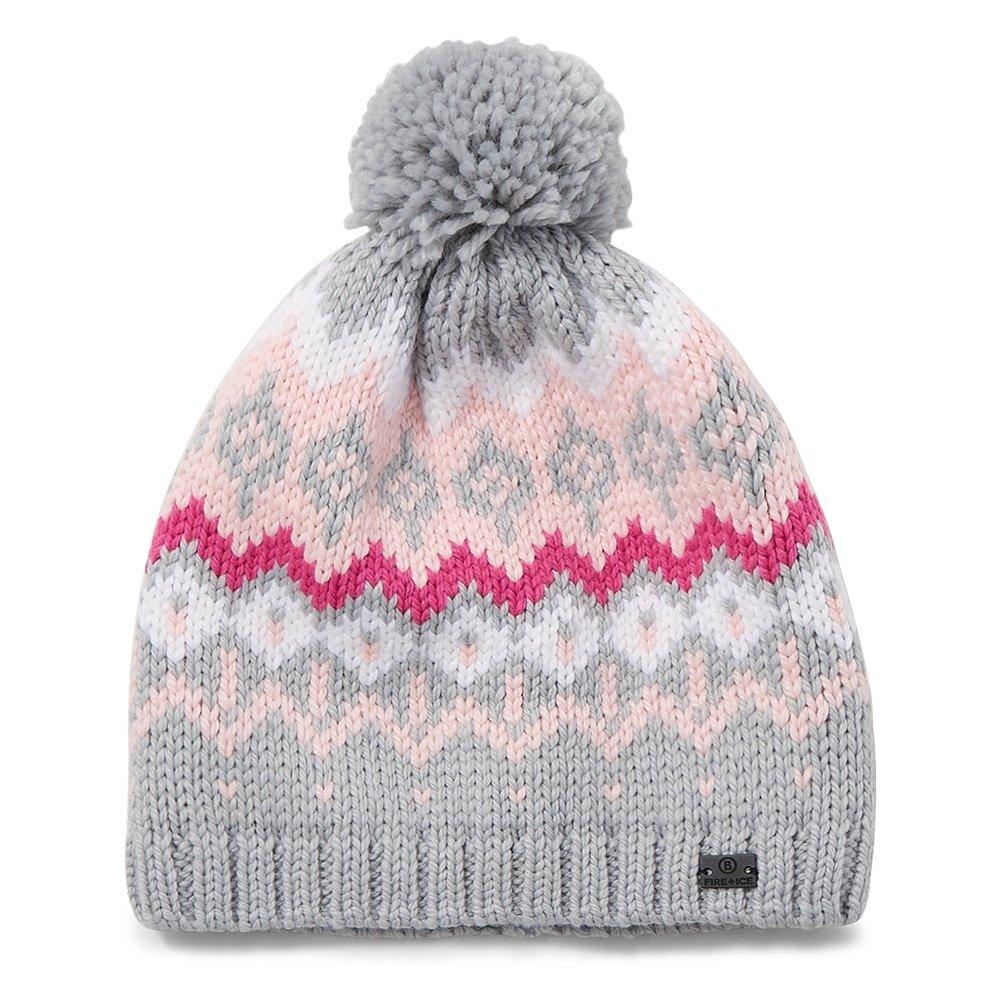Bogner Fire + Ice Elaina Hat (Women's) - Gray/Pink