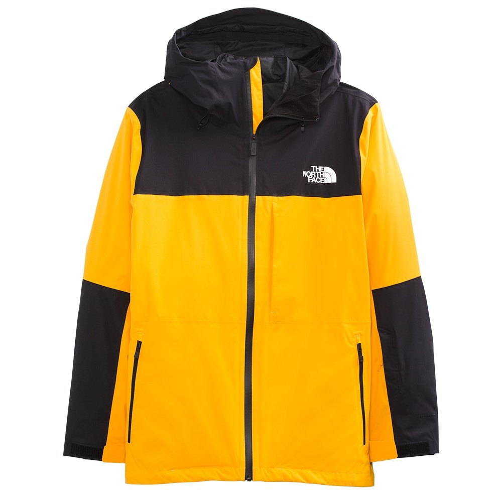 The North Face ThermoBall Eco Snow Triclimate Ski Jacket (Men's) - Summit Gold/TNF Black