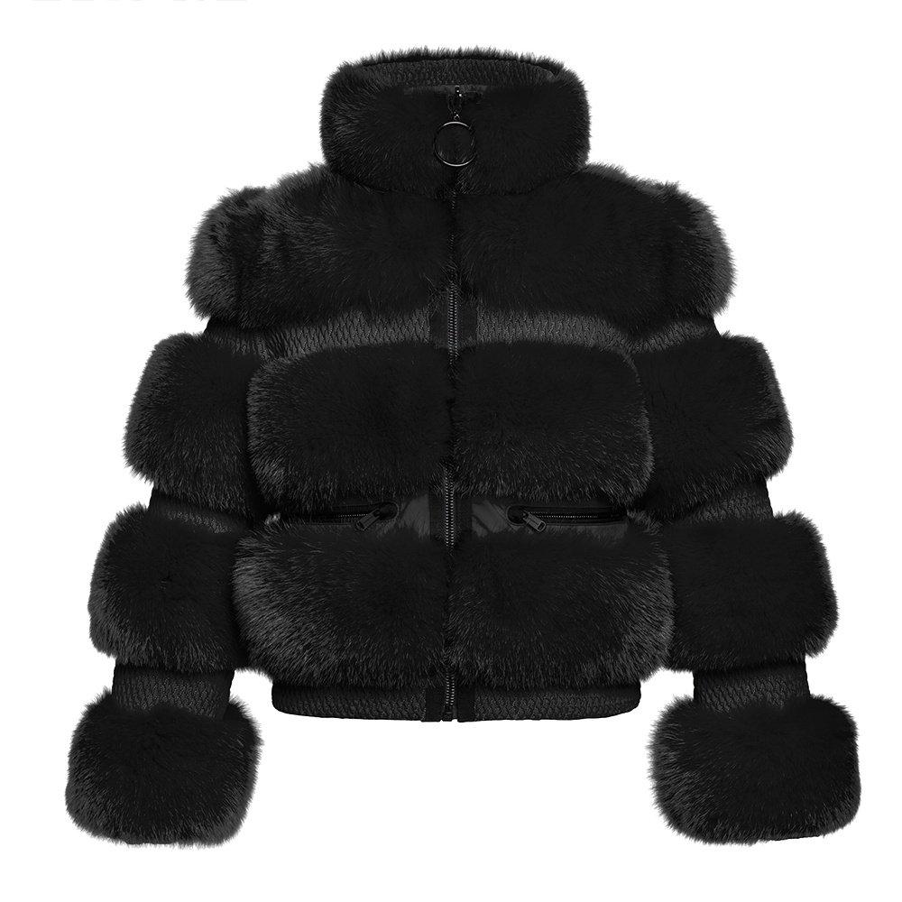 Goldbergh Paradiso Faux Fur Jacket (Women's) - Black