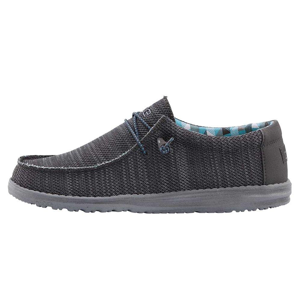 Hey Dude Wally Sox Shoe (Men's) - Charcoal/Gray