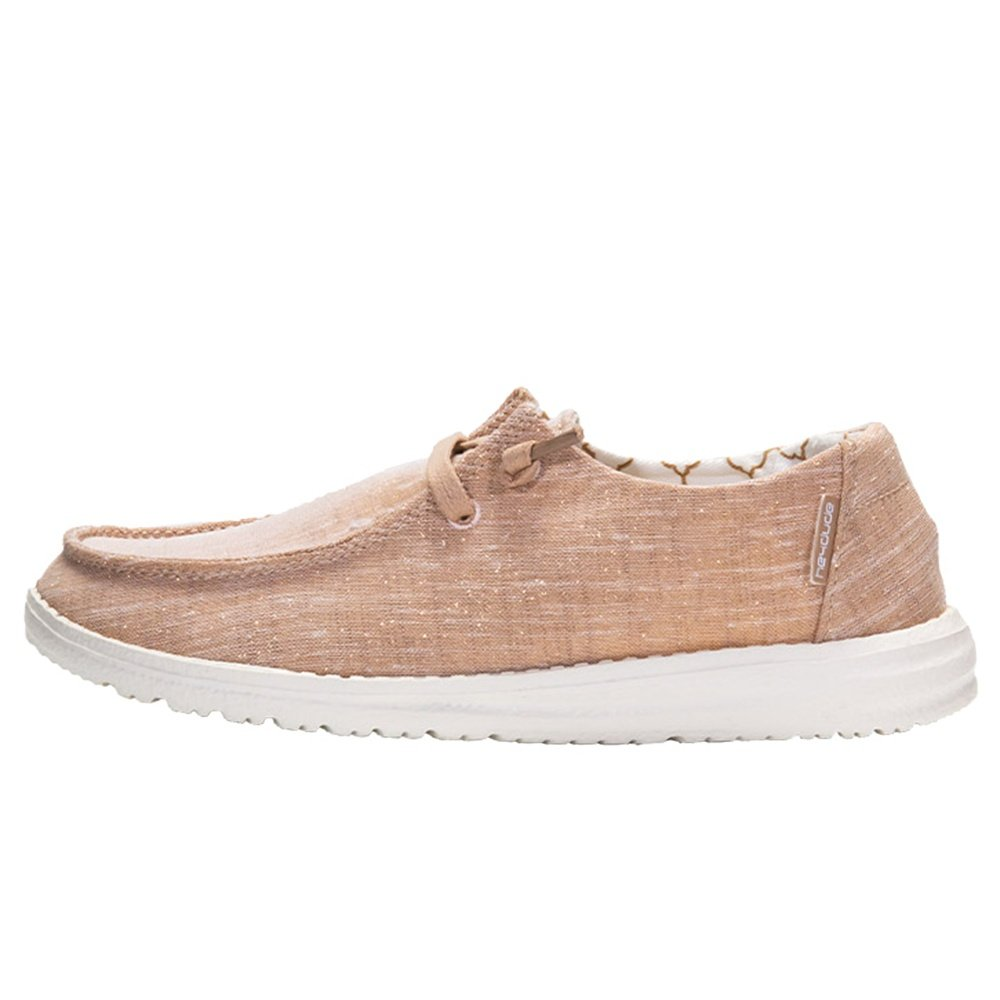 Hey Dude Wendy Sparkling Shoe (Women's) - Rose Gold