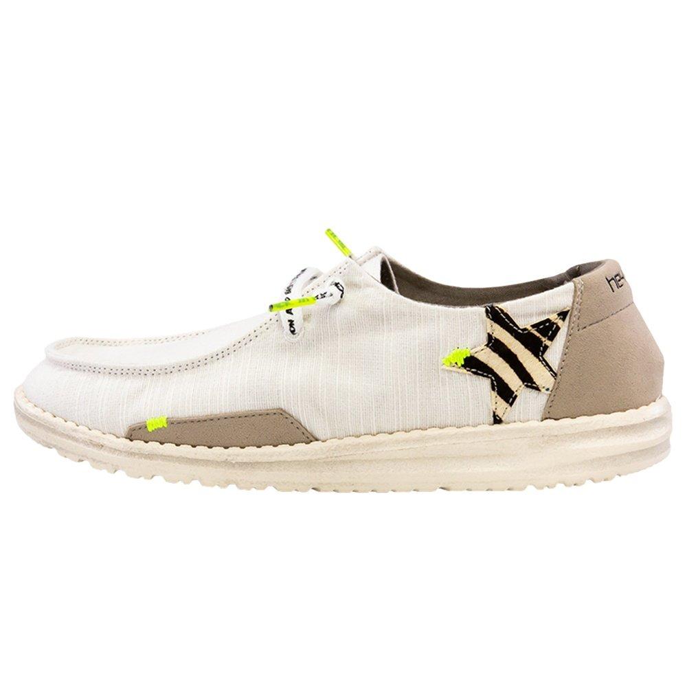 Hey Dude Wendy Star Shoe (Women's) - White