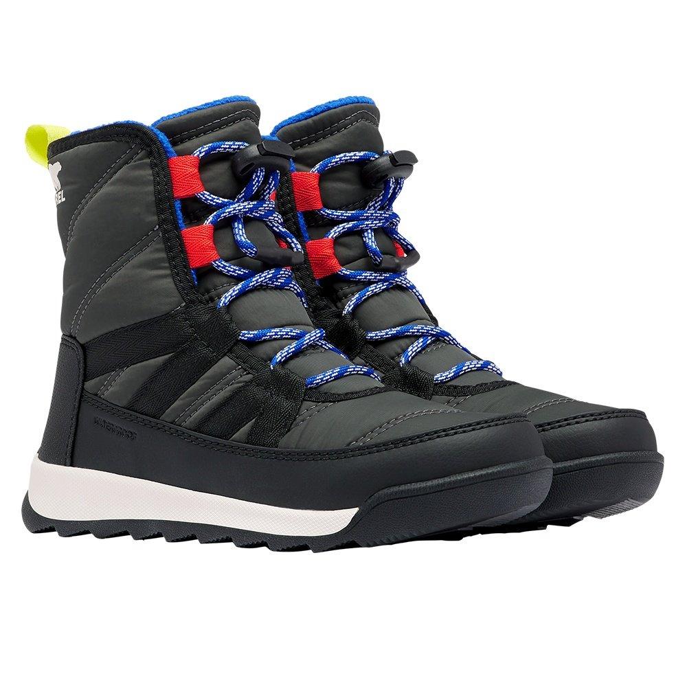 Sorel Whitney II Short Lace Winter Boot (Kids') - Coal