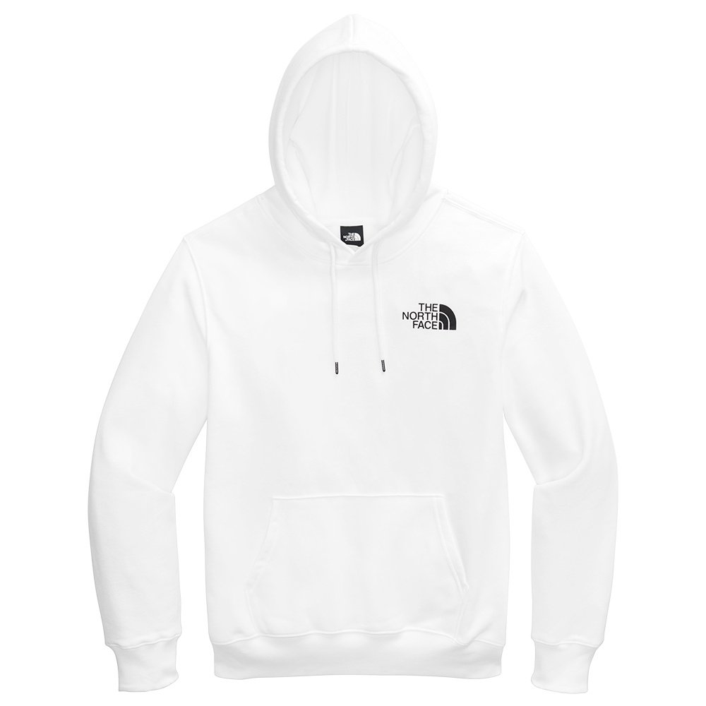 The North Face Box NSE Pullover Hoodie (Men's) - TNF White/TNF Red