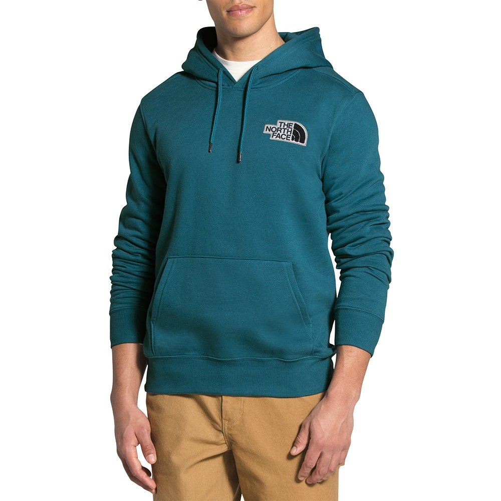 The North Face Patch Pullover Hoodie (Men's) - Mallard Blue