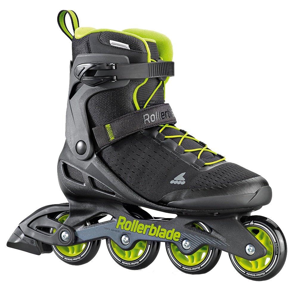 Rollerblade Zetrablade Elite Inline Skates (Men's) - Black/Lime