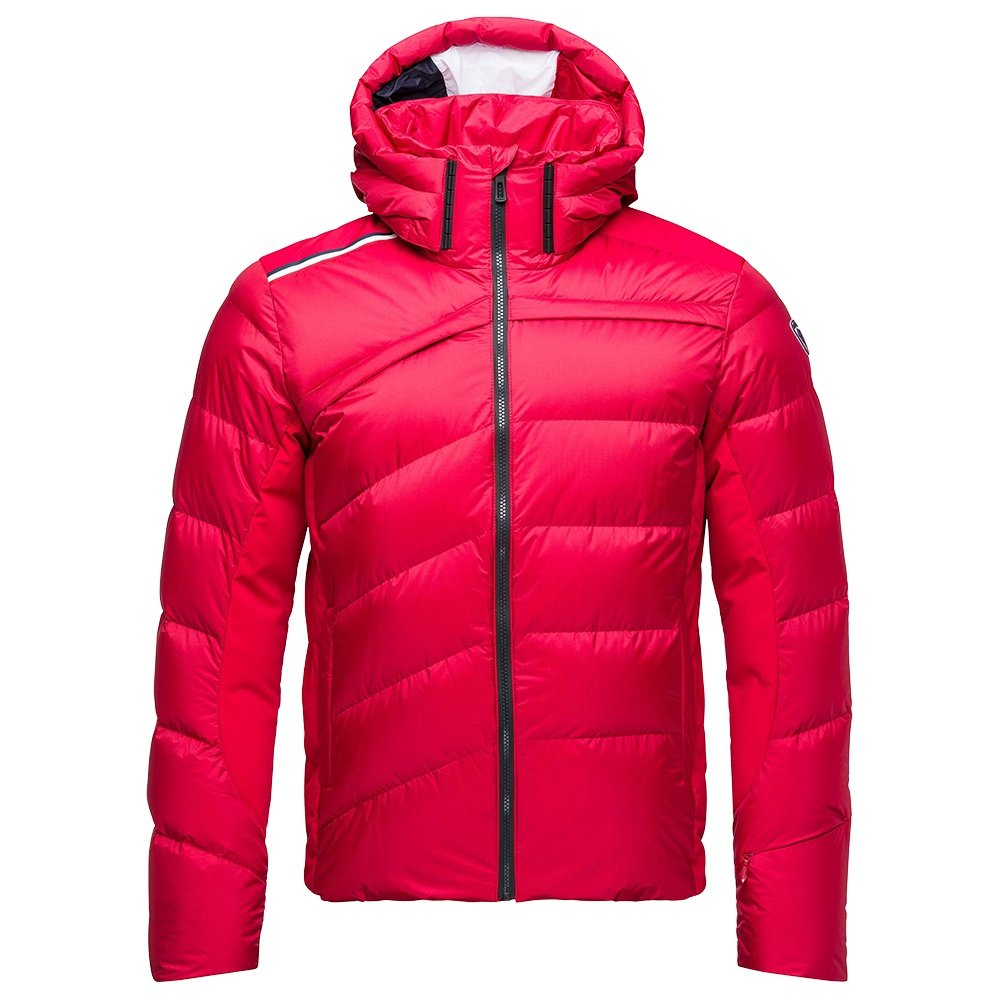 Rossignol Hiver Down Ski Jacket (Men's) - Carmin