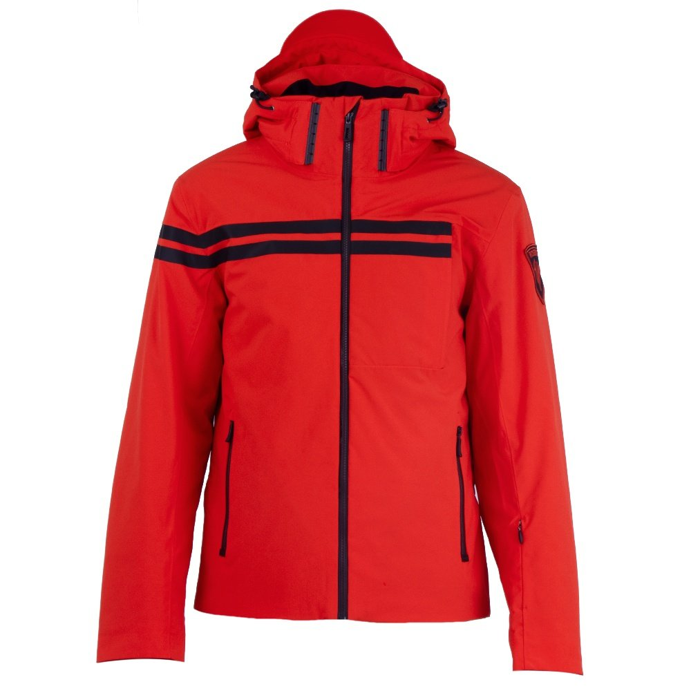 Rossignol Embleme Insulated Ski Jacket (Men's) - Neon Red