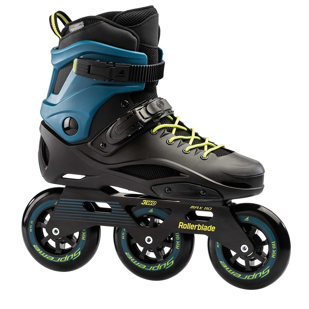 Rollerblade RB 110 3WD Inline Skates (Men's) - Black/Blue