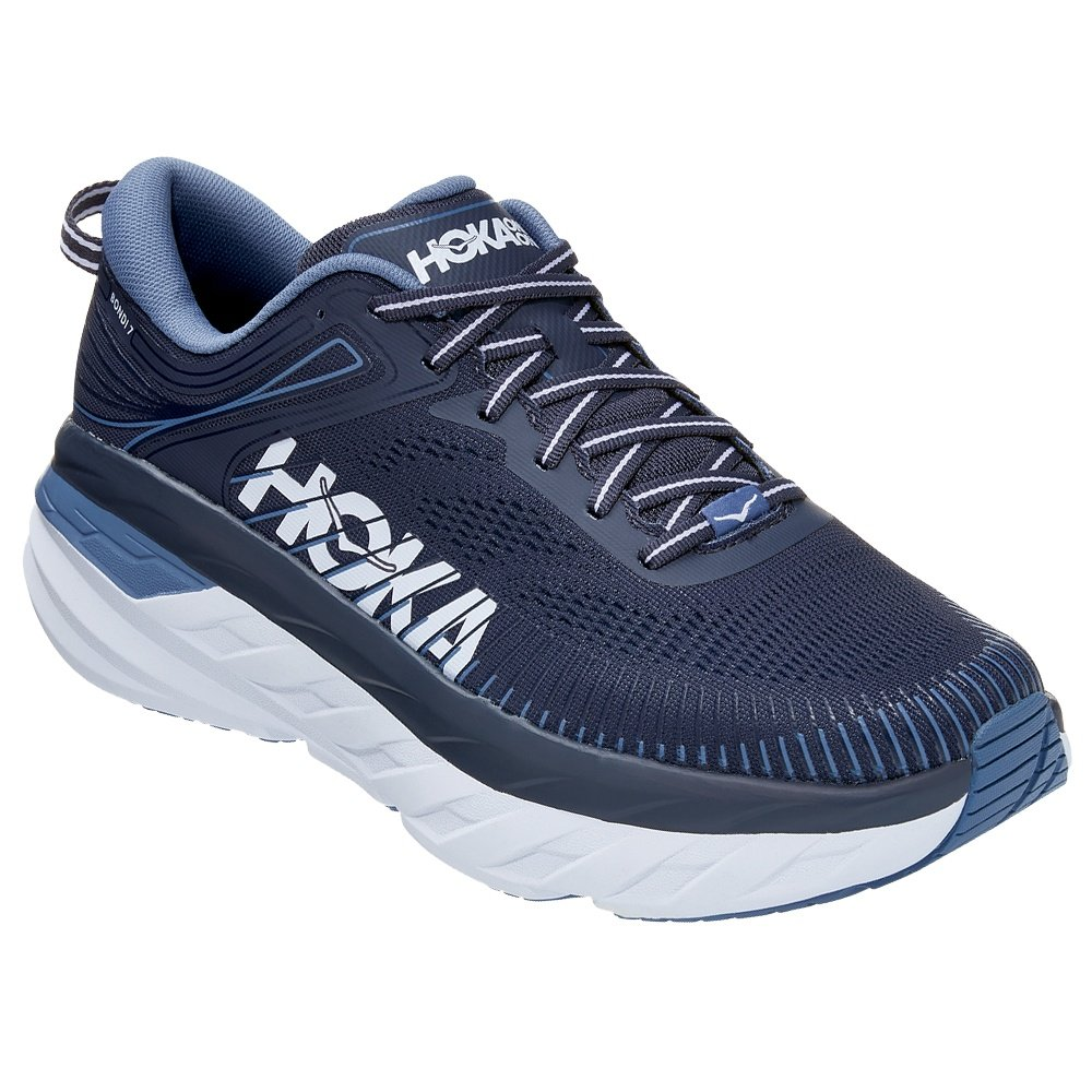 Hoka One One Bondi 7 Running Shoe (Men's) - Ombre Blue/Provincial Blue