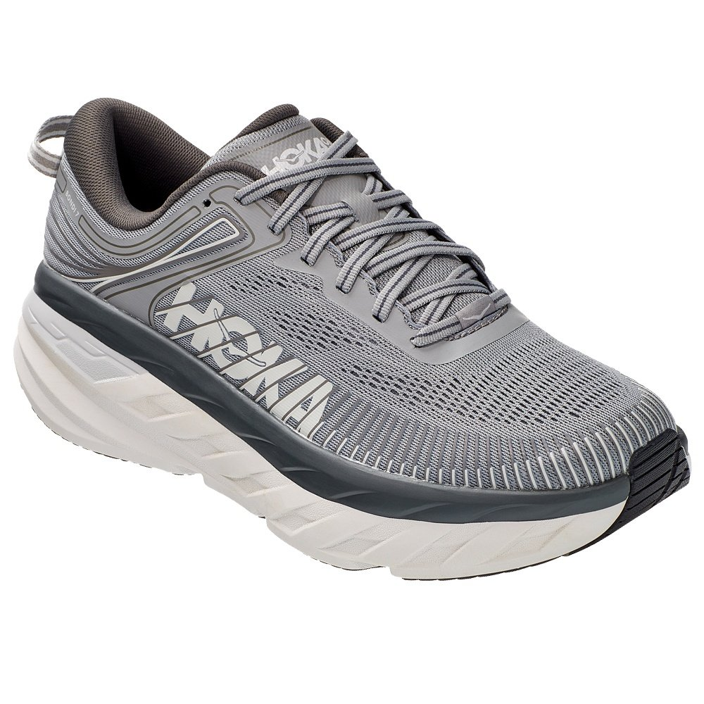 Hoka One One Bondi 7 Running Shoe (Men's) - Wild Dove/Dark Shadow