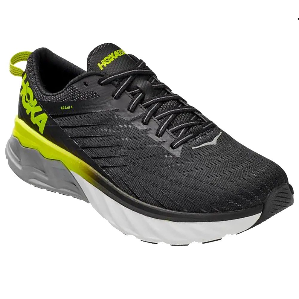 Hoka One One Arahi 4 Running Shoe (Men's) - Black/Evening Primrose