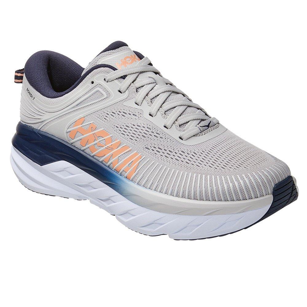 Hoka One One Bondi 7 Running Shoe (Women's) - Lunar Rock/Black Iris