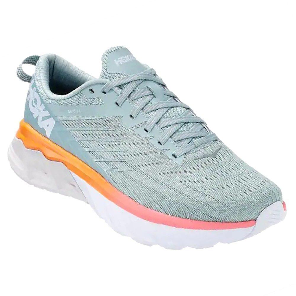 Hoka One One Arahi 4 Wide Running Shoe (Women's) - Blue Haze/Lunar Rock