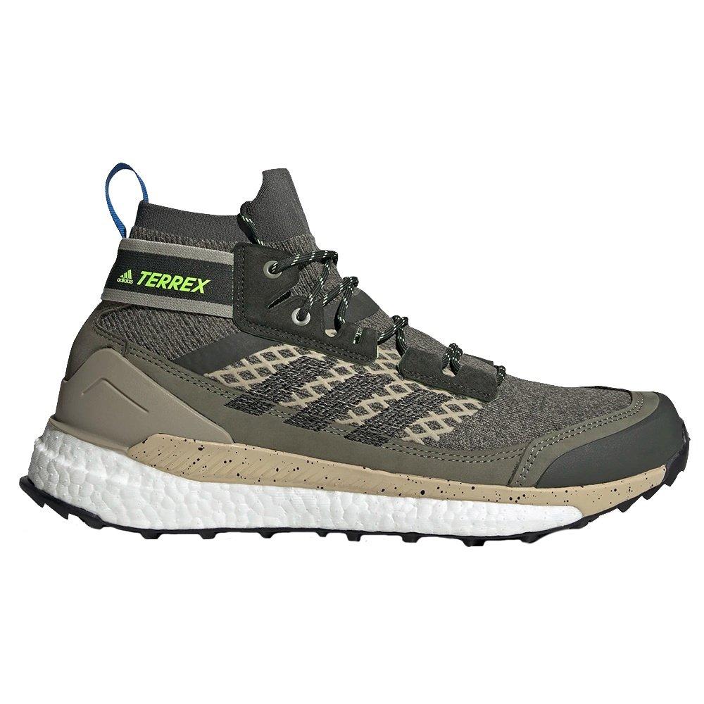 Adidas Terrex Free Hiker Blue Hiking Boot (Men's) - Legacy Green