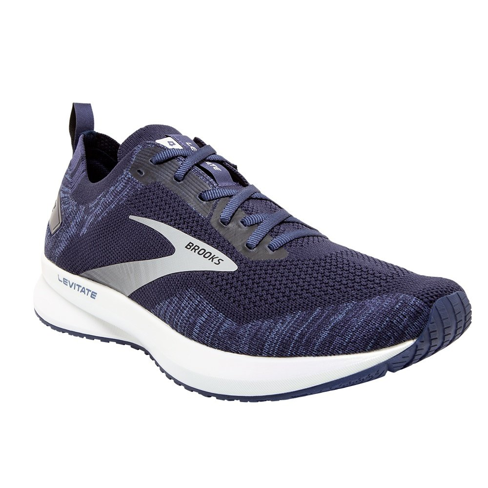 Brooks Levitate 4 Running Shoe (Men's) - Navy/White/Grey