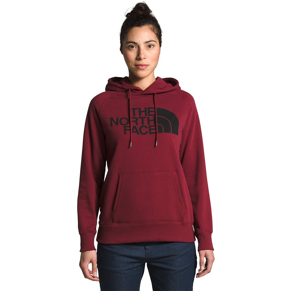 The North Face Half Dome Pullover Hoodie (Women's) - Pomegranate