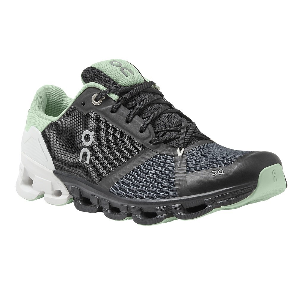 On Cloudflyer Running Shoe (Women's) - Black/White
