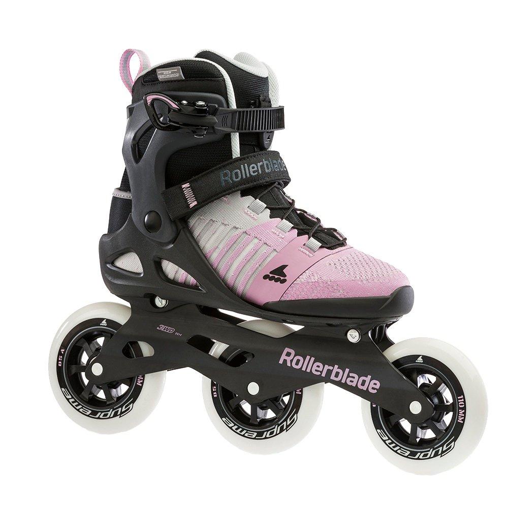 Rollerblade Macroblade 110 Inline Skate (Women's) - Grey/Pink