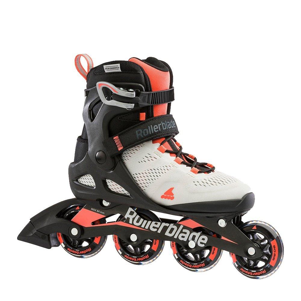 Rollerblade Macroblade 80 Inline Skate (Women's) - Grey/Coral