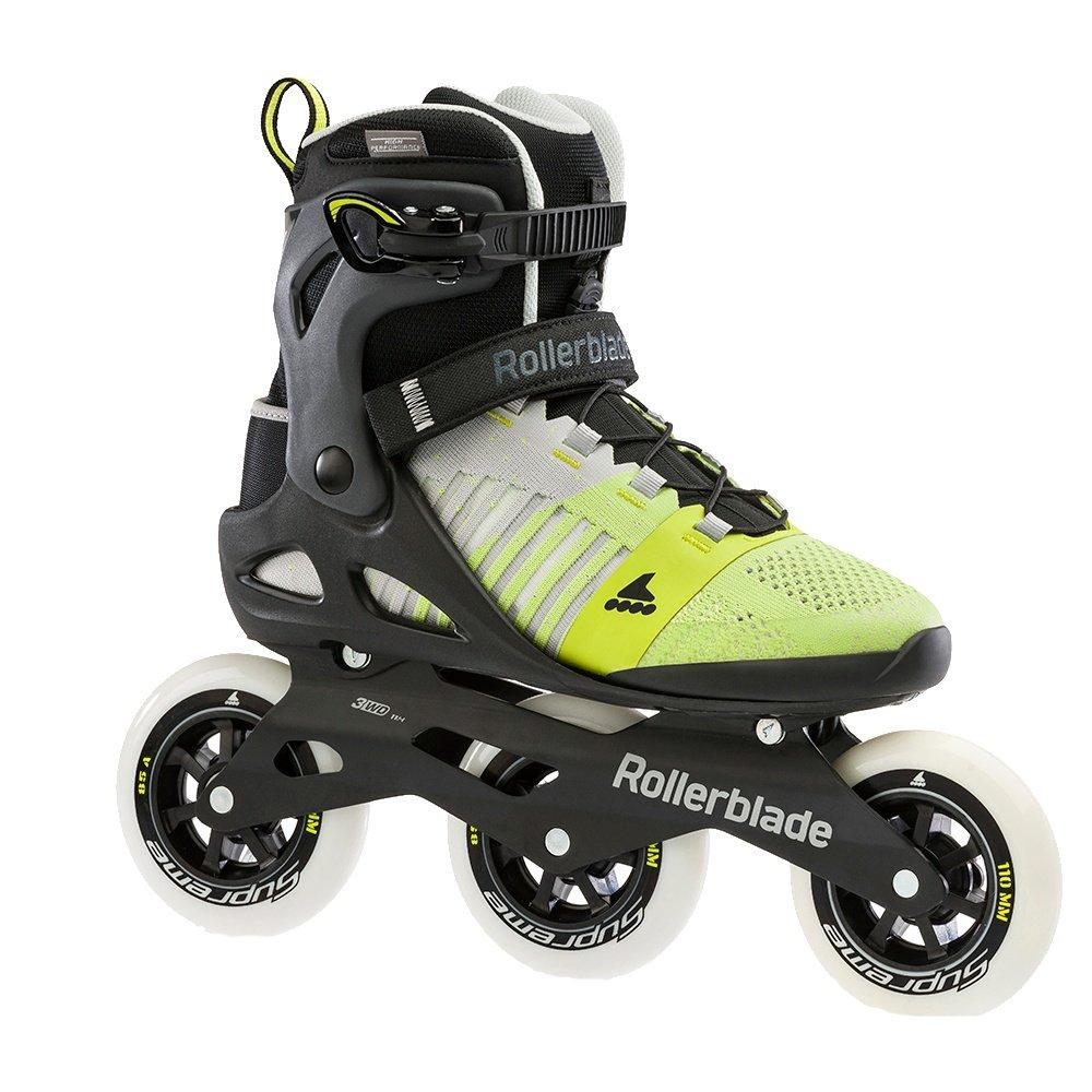 Rollerblade Macroblade 110 Inline Skate (Men's) - Grey/Yellow