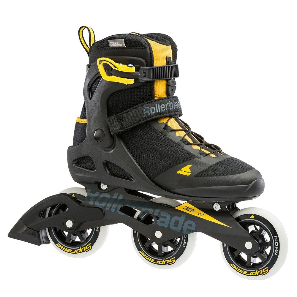 Rollerblade Macroblade 100 Inline Skate (Men's) - Black/Yellow