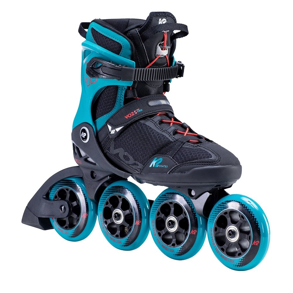 K2 VO2 S 100 Inline Skate (Men's) - Black/Teal