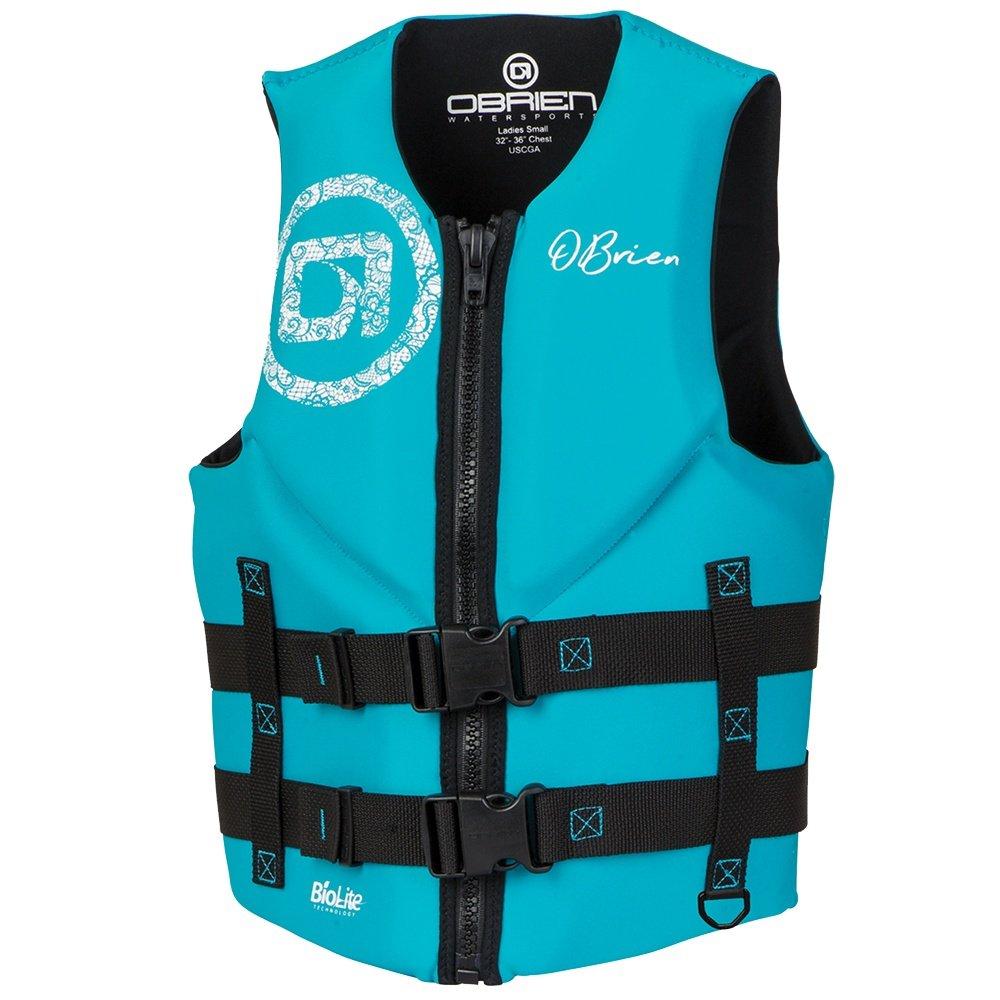 O'Brien Traditional Neo Life Vest (Women's) - Black/Aqua