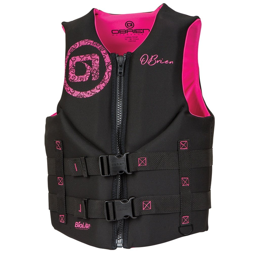 O'Brien Traditional Neo Life Vest (Women's) - Black/Pink