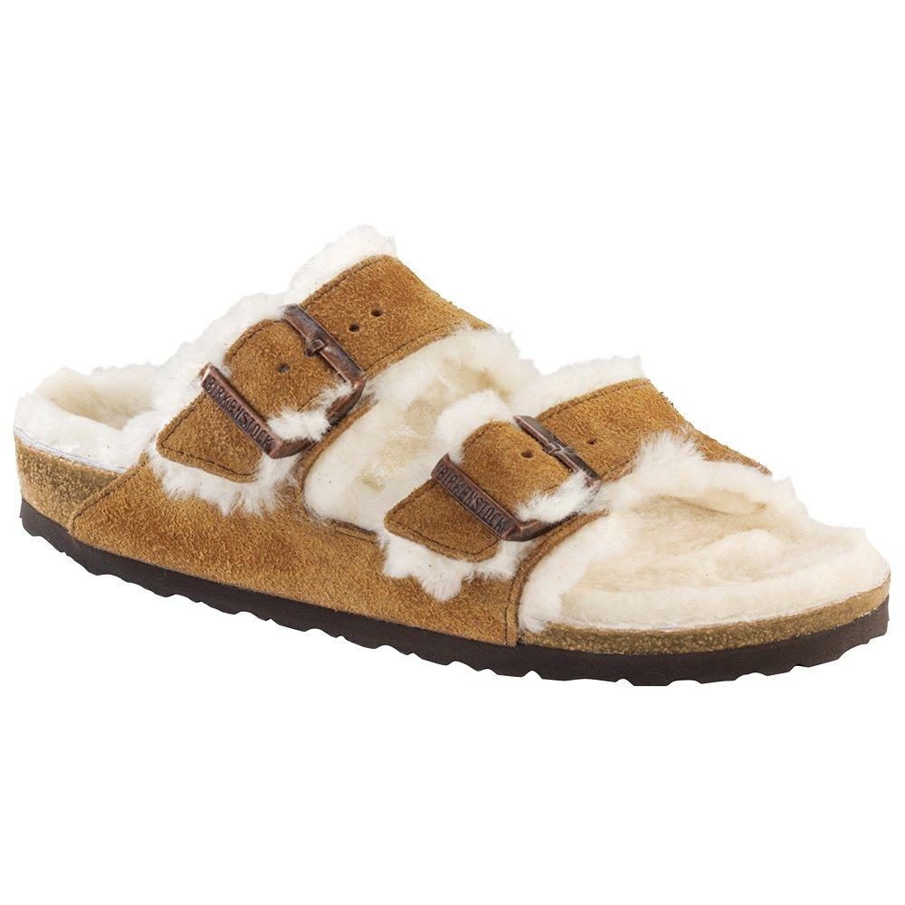 Birkenstock Arizona Shearling Sandal (Women's) - Mink Natural