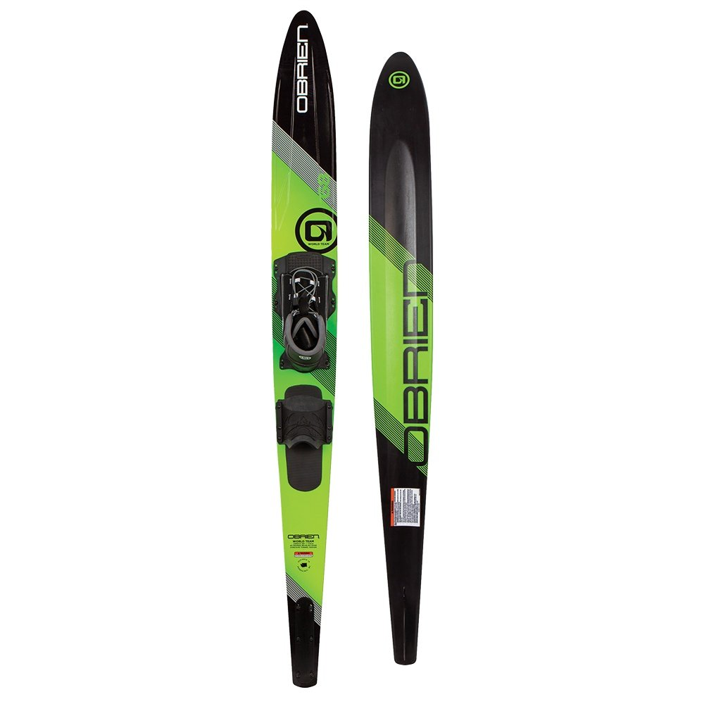 """O'Brien World Team 68"""" Waterski Package with Z-9 Binding and Rear Toe Piece (Adults') -"""