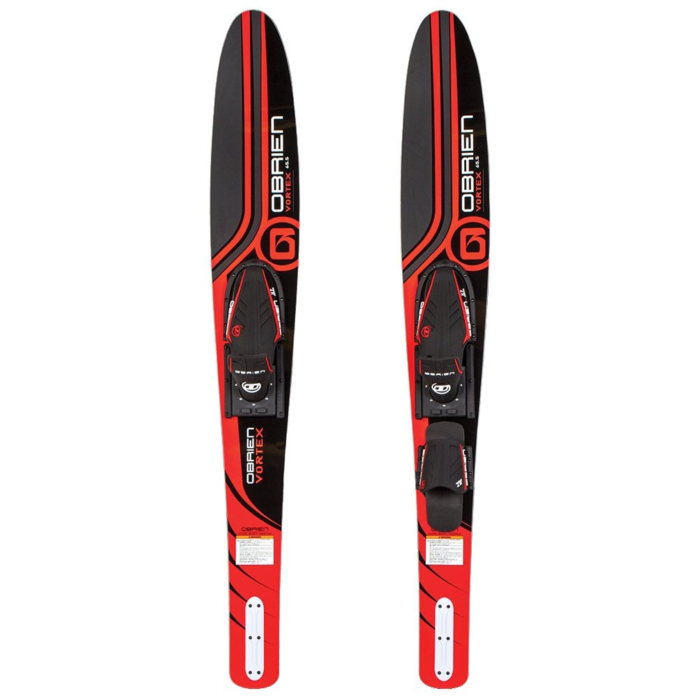 O'Brien Vortex Waterski Combo with X-7 Bindings (Adults') - Red