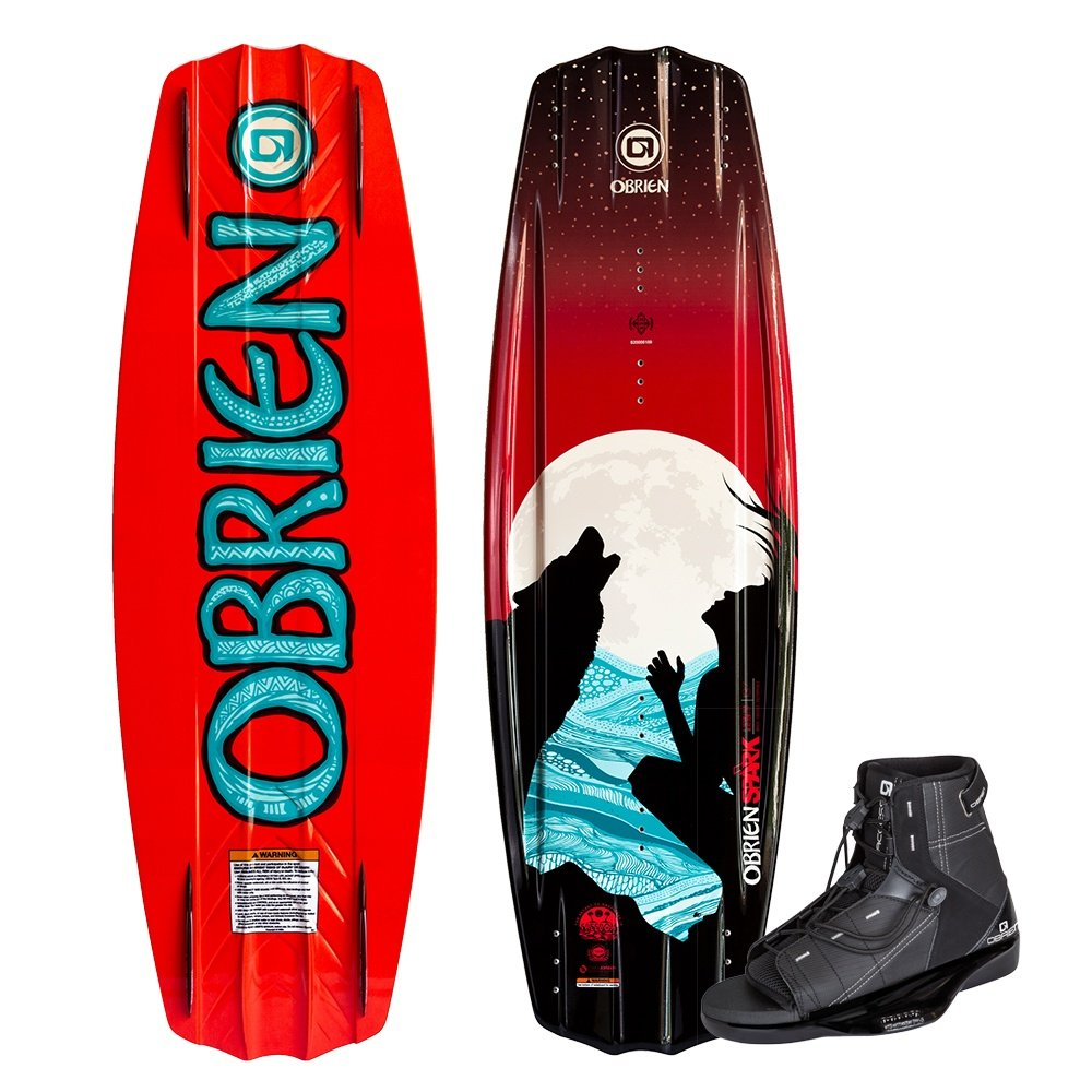 O'Brien 137 Spark Wakeboard with Access Boots (Women's) -