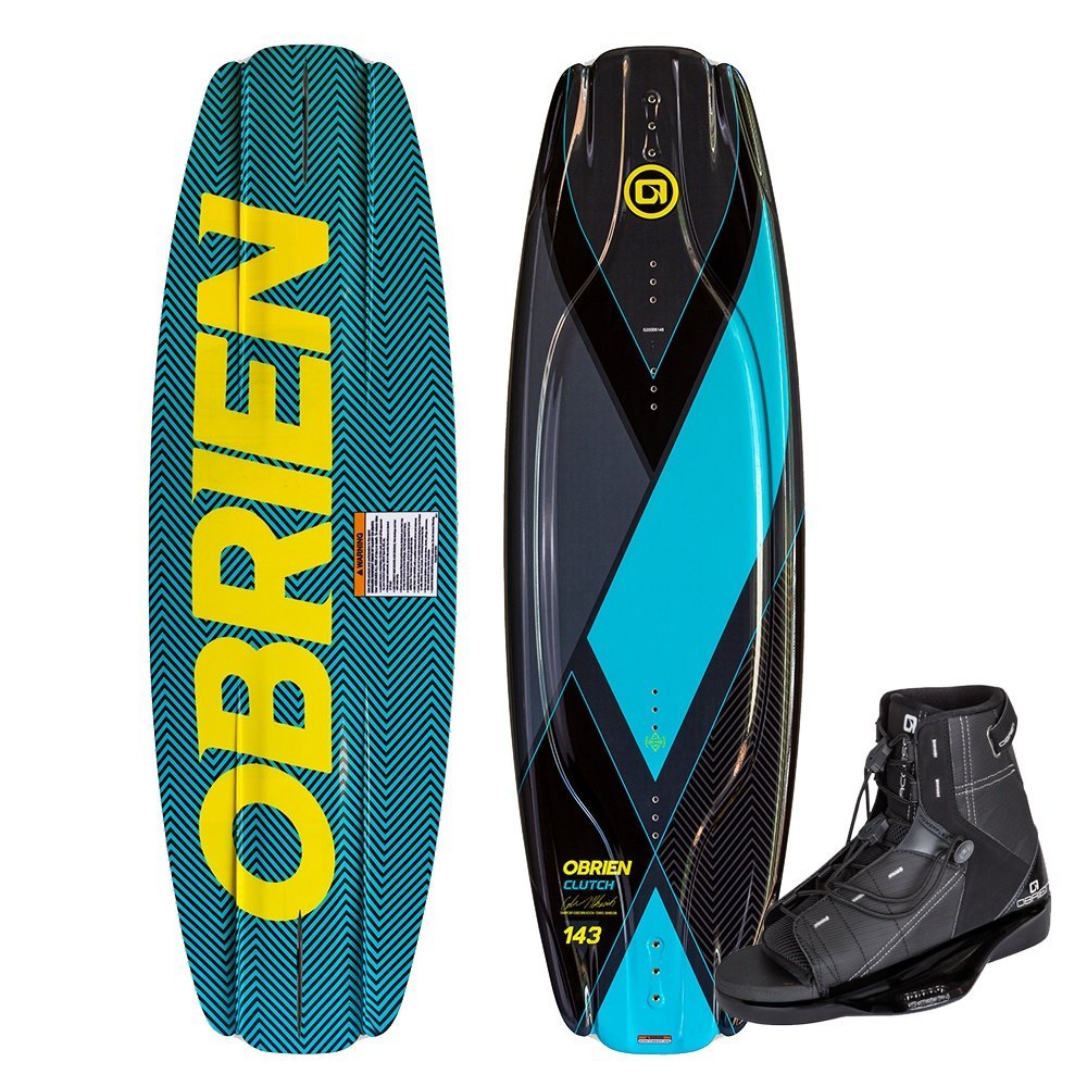O'Brien 143 Clutch Wakeboard with Access Boots (Men's) -