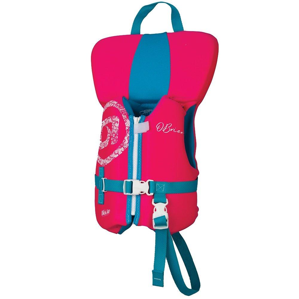 O'Brien Infant USCG Life Vest (Infant Girls') - Pink/Aqua