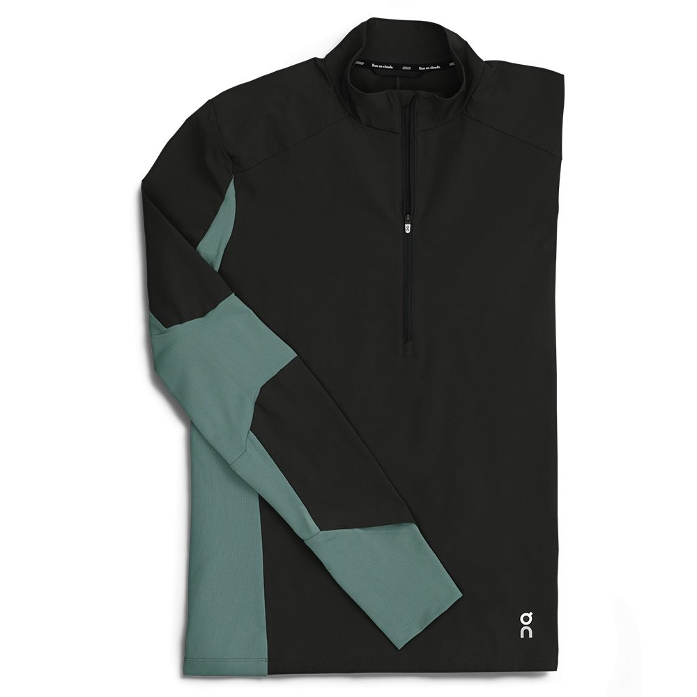 On Trail Breaker Running Shirt (Men's) - Black/Olive