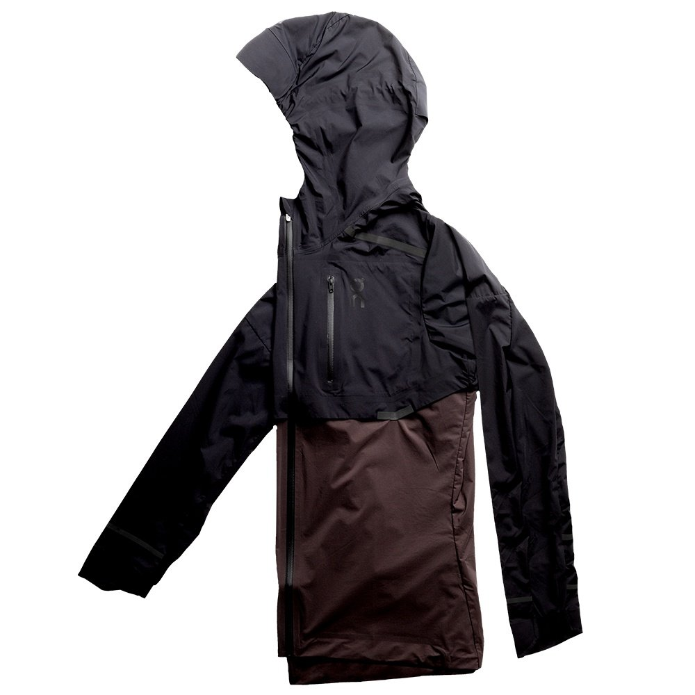 On Weather Running Jacket (Women's) - Black Pebble