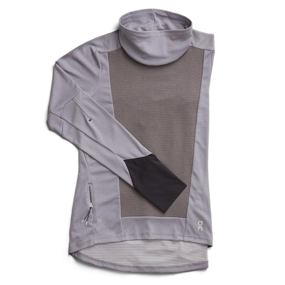 On Weather Running Shirt (Women's) - Fossil/Rock