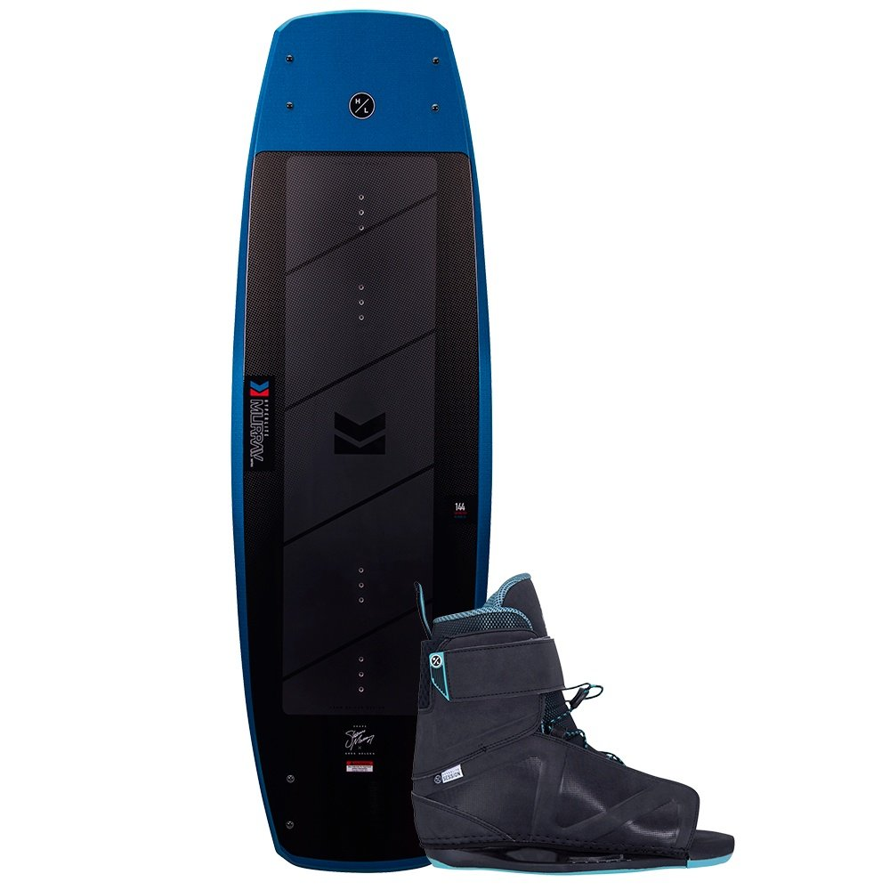 Hyperlite 150 Murray Wakeboard with 7-10.5 Session Boots (Men's) -