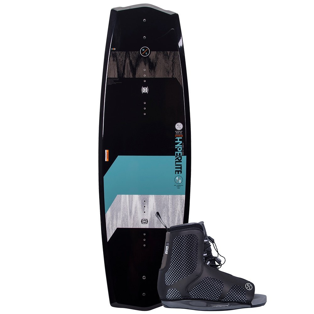 Hyperlite 125 State Wakeboard with 4-8 Remix Boots (Kids') -