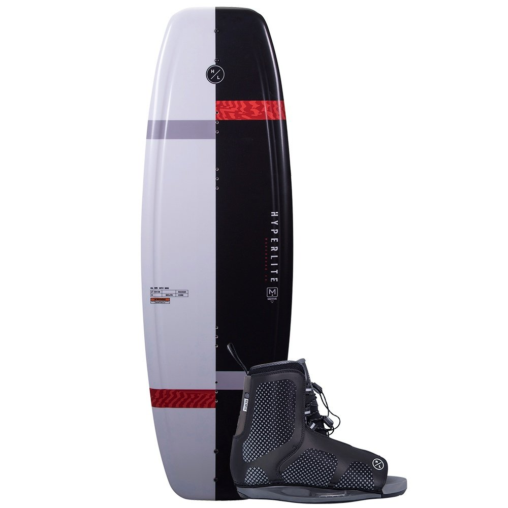 Hyperlite 119 Motive Wakeboard with 4-8 Remix Boots (Kids') -