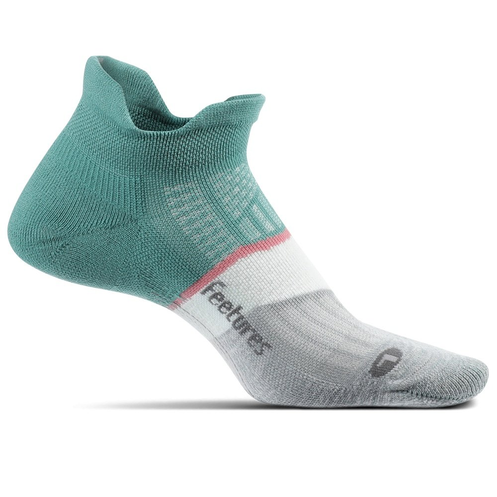 Feetures Elite Max Cushioning No Show Running Sock (Women's) - Soft Moss
