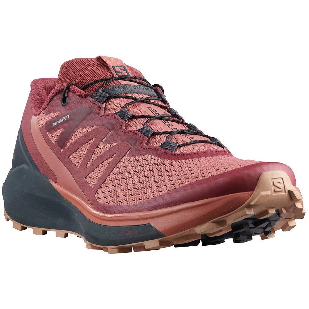 Salomon Sense Ride 4 Trail Running Shoe (Women's) - Brick