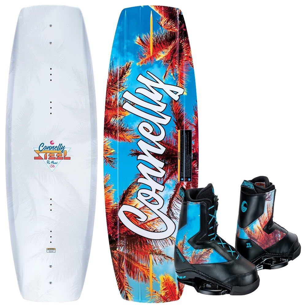 Connelly 136 Steel Wakeboard with SL Boots (Men's) -