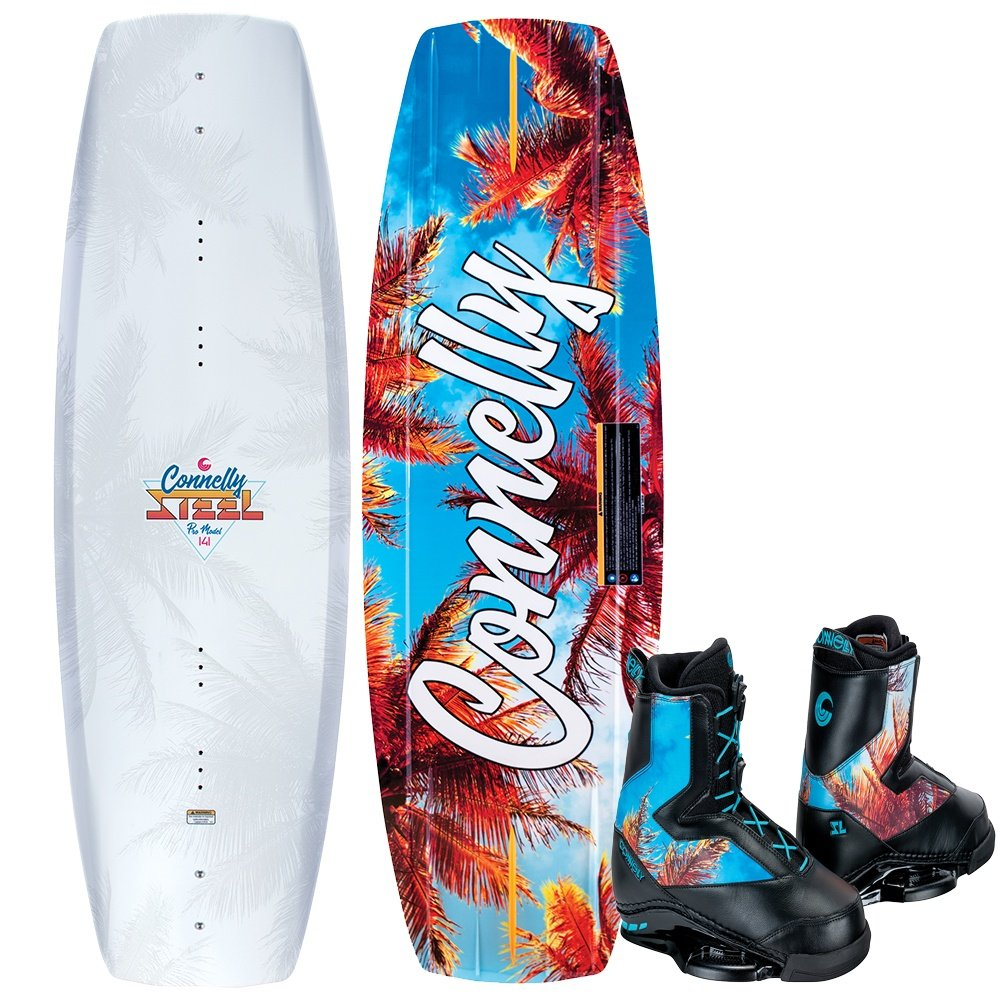 Connelly 141 Steel Wakeboard with SL Boots (Men's) -