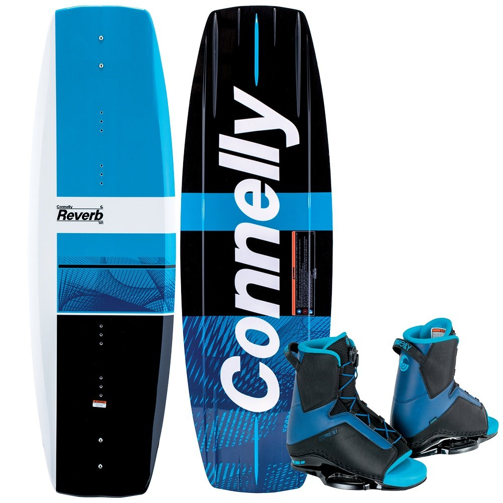 Connelly 141 Reverb Wakeboard with Empire Boots (Men's) -